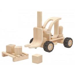 Chariot élévateur en bois - à partir de 3 ans *
