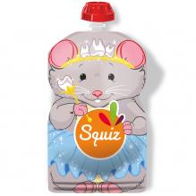 Gourde souple réutilisable Squiz Souris Smile 130 ml