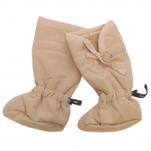 Chaussons ajustables en laine et en polaire - Sandcastle