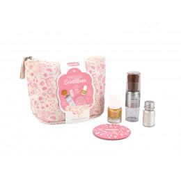 Trousse scintillante - maquillage naturel et ludique