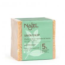 Savon d'Alep 5 % laurier - 200 g
