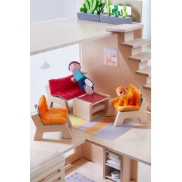 Meubles pour maison de poupée Little Friends Salon