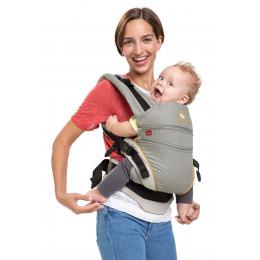 Porte-bébé Baby carrier XT en coton BIO - Grey Orange