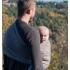 Porte bébé Sling - Cappuccino marron