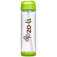 Bouteille d'eau avec paille Pip - 530 ml Vert