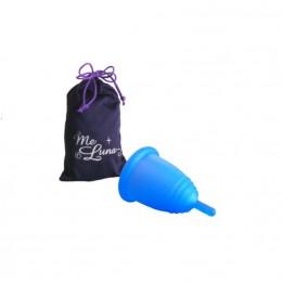 Coupe menstruelle classique - Tige - bleu