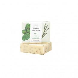 Savon N°7 aux herbes de basilic - 110 g