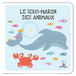 Puzzle géant Le sous-marin des animaux 20 pièces - à partir de 3 ans