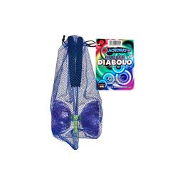 Diabolo avec baguettes en aluminium - Mauve - à partir de 8 ans