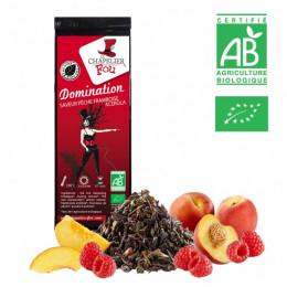 Domination - Thé noir pêche framboise acérola bio