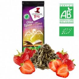 Once upon a time - Thé vert fraise jasmin épicé bio