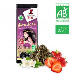 Pandore - Thé vert mûre fraise jasmin bio