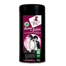 Roméo et Julien - Thé vert grenade framboise gingembre bio