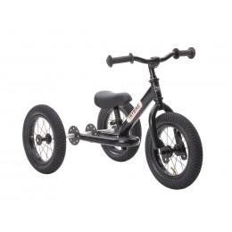 Trybike 2-en-1 tout noir - tricycle