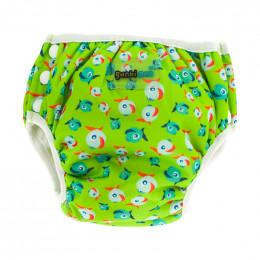 2 en 1 culotte d'apprentissage et maillot de bain - lot de 2 - Vert poissons