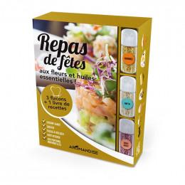 """Coffret """"Kit"""" de préparation - Repas de fêtes + livre"""