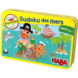 Jeux de voyage Sudoku des mers - à partir de 5 ans