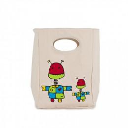 Sac repas - Classic Lunch - Robots