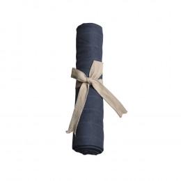 Lange en mousseline bio - Dark blue