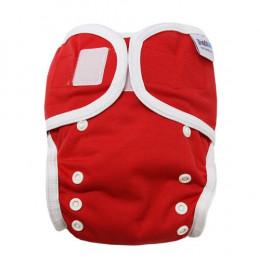 Culotte de protection pour couche lavable - 3,5 à 20 kg - Lot de 2 - Rouge
