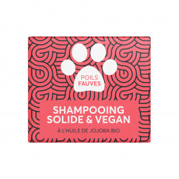 Shampooing solide pour animaux - Poils fauves - 60 ml