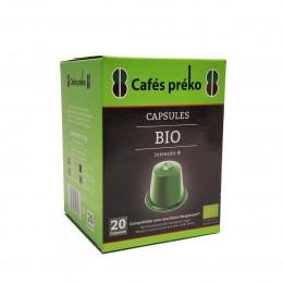 Café BIO  en capsule  - 20 capsules