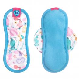 Serviette hygiénique lavable Bloom - Mini - Eau