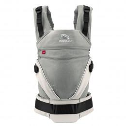 Porte-bébé Baby carrier XT en coton BIO - Grey White