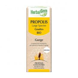 Propolis Bio à large spectre - Gorge - Gouttes 15 ml