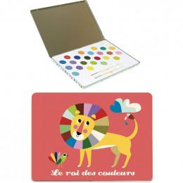 Le roi des couleurs - boîte à peintures - à partir de 4 ans