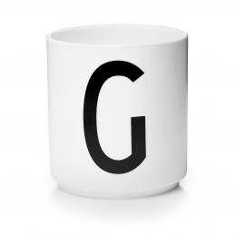Tasse en porcelaine G