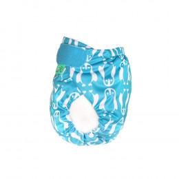 Culotte de protection PeeNut - Bleu manchots
