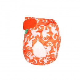 Culotte de protection PeeNut - Orange singes