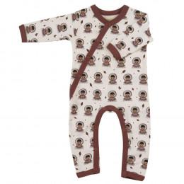 Pyjama combi coton BIO avec pieds Eskimo Spice