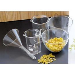 Kit d'accessoires fabrication cosmétiques - verre borosilicate