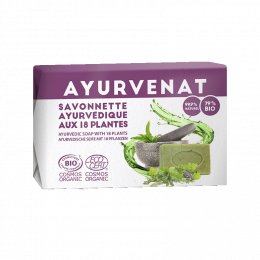 Savon Ayurvédique aux 18 plantes BIO