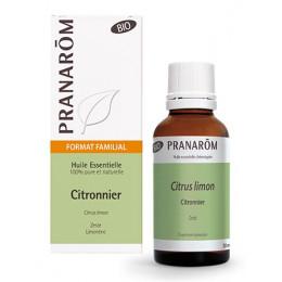 Huile essentielle de Citronnier zeste BIO - 30 ml
