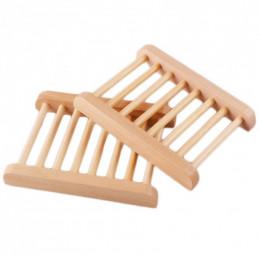 Porte savon bambou grille
