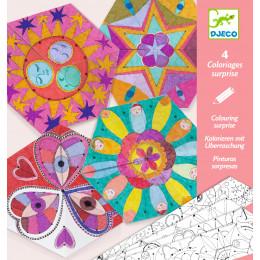Coloriage surprise - Mandalas - Constellations