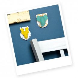 Figurines  à mouler et à décorer - Mon atelier - Trophées magnets - à partir de 8 ans