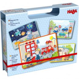 Boîte de jeu magnétique Les métiers - à partir de 3 ans