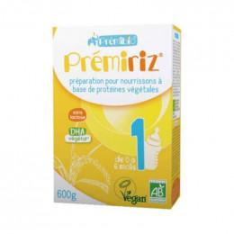 Prémiriz 1 Préparation végétale - de 0 à 6 mois - 600 g