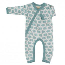 Pyjama coton bio - Tortue turquoise