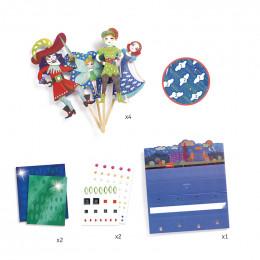 DIY marionnettes à décorer - Peter Pan