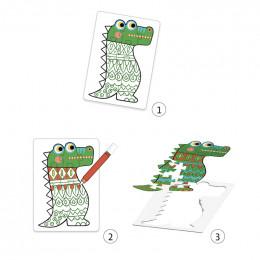 DIY puzzles à colorier - Animocolor