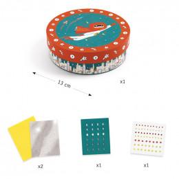 DIY mosaïques & stickers - Super trésor