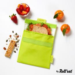 Pochette lavable et réutilisable Snack'n'Go - Active Lime