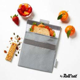 Pochette lavable et réutilisable Snack'n'Go - Active Grey