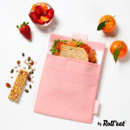 Pochette lavable et réutilisable Snack'n'Go - Active Pink