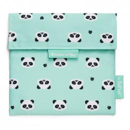 Pochette lavable et réutilisable Snack'n'Go - Kid Panda